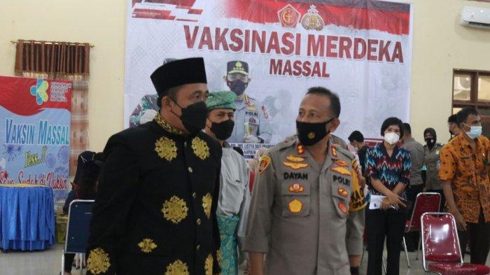 Wakil Wali Kota Tinjau Vaksinasi Massal di Polres Pelabuhan Belawan