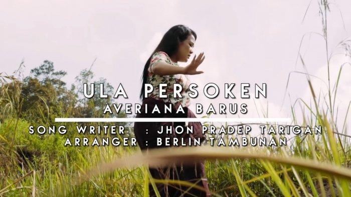 Lirik Lagu Karo Ula Persoken by Averiana Barus