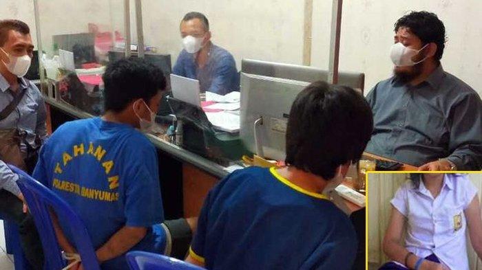 Pelaku WTM (46) dan SA (18) diamanakan di Satreskrim Polresta Banyumas, Jawa Tengah. Perbuatan ayah dan kakak itu tidak dilakukan secara bersama-sama. Bahkan, kedua pelaku tidak saling tahu jika telah berbuat bejat terhadap gadis remaja AJ (15).