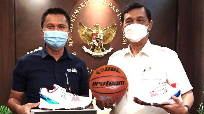 Menteri Luhut Dukung Honda DBL Menjadi Percontohan Pelaksanaan Event Olahraga