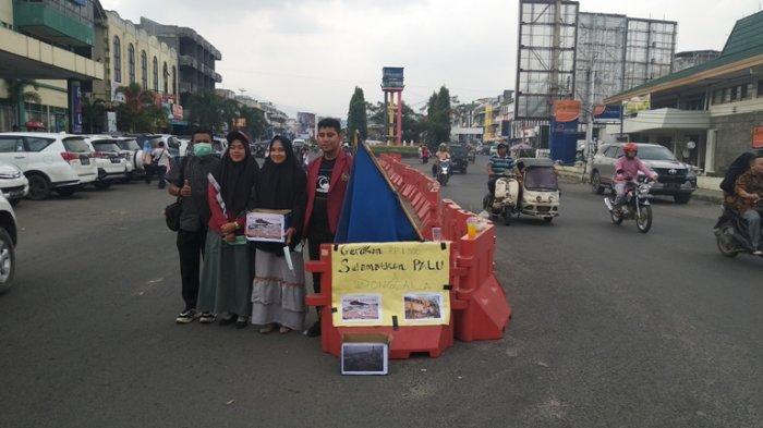 BEM UMTS Turun ke Jalan, Galang Bantuan untuk Korban Gempa dan Tsunami Sulawesi Tengah