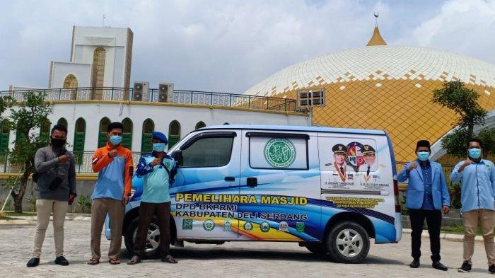 Menyambut Bulan Suci Ramadan, BKPMRI Deliserdang Luncurkan Dua Unit Mobil Pemelihara Masjid