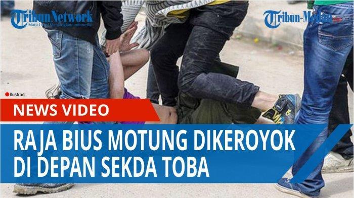 Pengeroyokan Raja Adat di Toba, Pihak Korban Lapor ke Polres, Desak Pelaku Ditahan