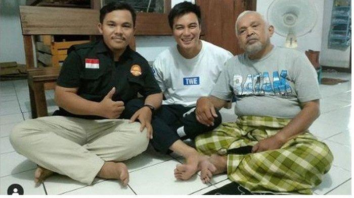 Pertemuan antara Baim Wong dan Kakek Suhud yang difasilitasi Yayasan Gerak Menebar Kebaikan, Kamis (14/10/2021)