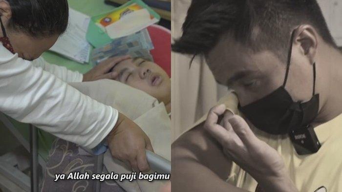 BARU Minta Maaf pada Kakek Suhud, Baim Wong Tak Kuasa Menahan Tangis Datangi Rumah Ibu Adrian