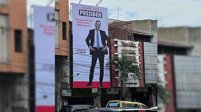 Horas Billboard Ahmad Sahroni Sang Pemimpi Memukau Tanah Medan