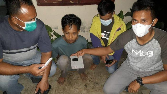 Bandar Sabu Pegajahan Pontang-panting Dikejar Polisi, Sempat Buang Barang Bukti