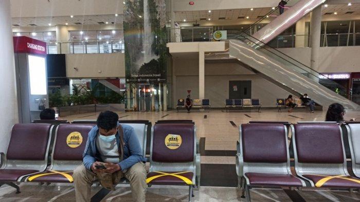 Cegah Kerumunan, Bandara Kualanamu Pantau Physical Distancing Lewat CCTV
