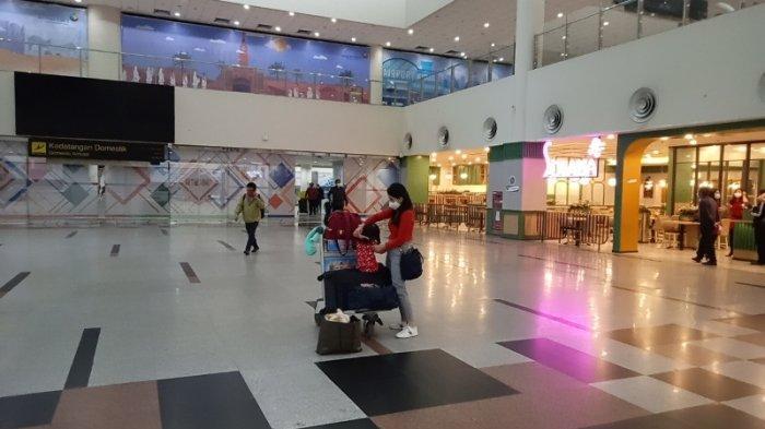 Mendekati Malam Pergantian Tahun, Bandara Kualanamu Terpantau Masih Sepi