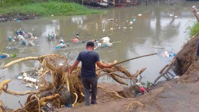 Warga Marelan Resah, Bau Bangkai dari Sungai Bederah Tercium Sampai Pemukiman