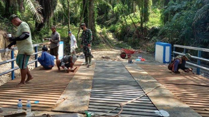 Selama 1 Bulan Masuk Desa, Personel TMMD Banyak Membangun di Deliserdang, Berikut Daftarnya