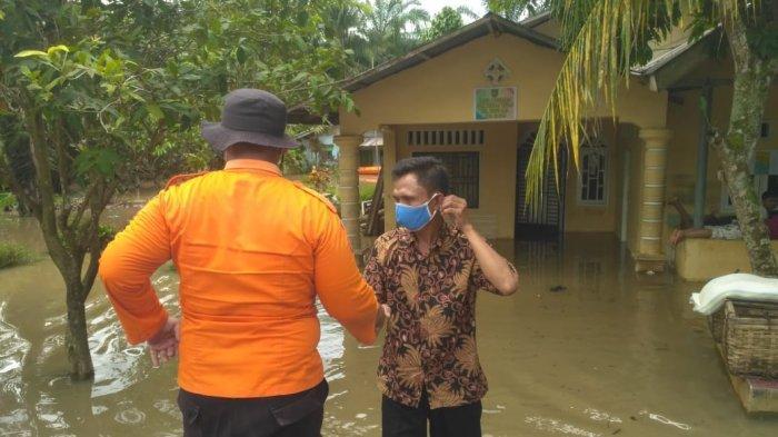 Enam Desa di Asahan Terendam Banjir Akibat Kiriman Luapan Air Sungai
