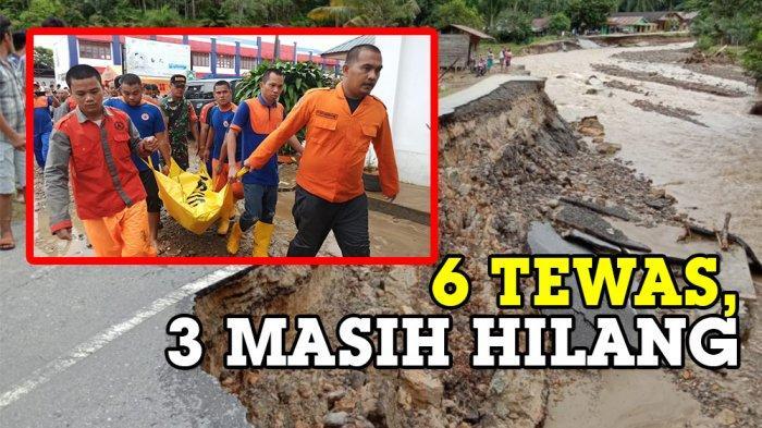 Banjir Bandang Tapteng, BMKG Sebut Masih Dilanda Hujan Tiga Hari ke Depan