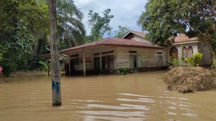 Sungai Silau Tua Meluap, Sebanyak 5 Desa di 2 Kecamatan di Asahan Kebanjiran