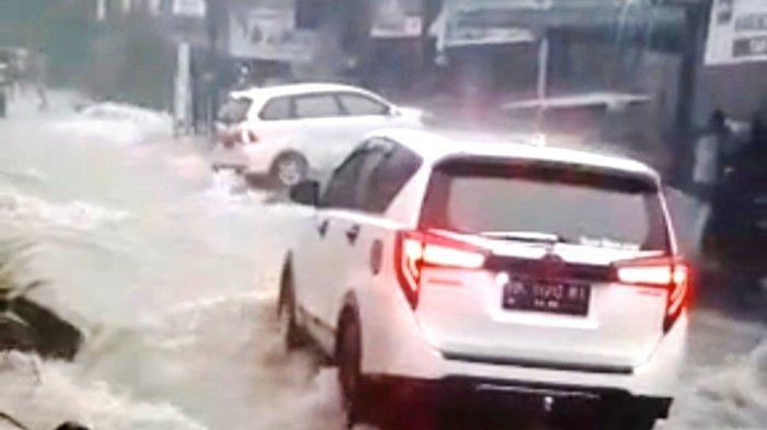 Sempat Diterjang Banjir Ganas Hingga Nyaris Menghanyutkan Mobil, Ini Komentar Warga Siantar