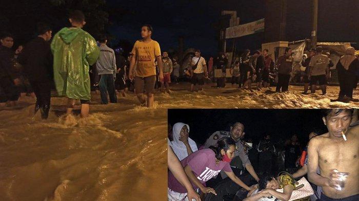 Foto-foto Banjir Terjang Kawasan Tanjung Selamat Deliserdang - Medan hingga Memakan Korban