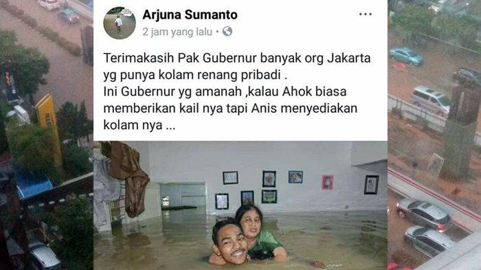 Sekda DKI Ucap Banjir Dinikmati Saja, Warga Geram dan Mengecam: Tolong Jangan Permainkan Hati Kami!