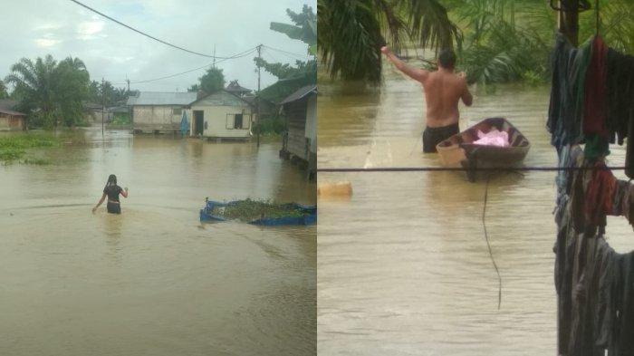 Usai Batangserangan, Kini Giliran Tanjungpura Dilanda Banjir
