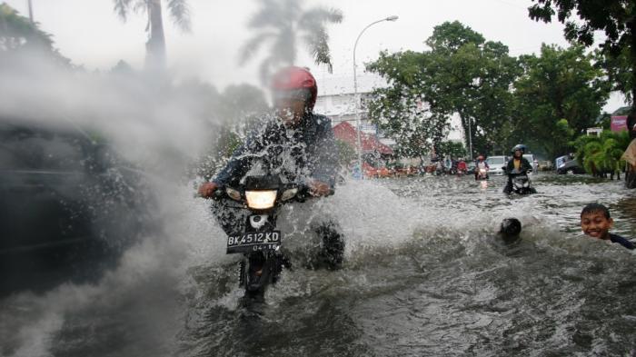 Hujan Turun, Banjir Acapkali Terjadi di Kota Medan