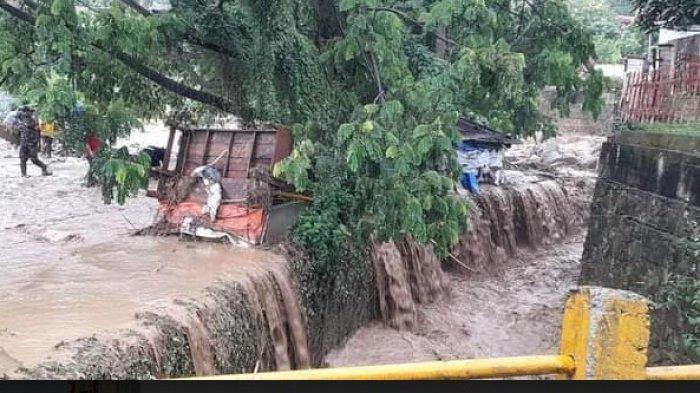 BPBD Simalungun Catat Dampak Banjir Parapat, Frit Damanik: Tidak Ada Korban Jiwa