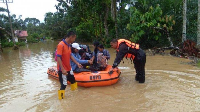 Korban Tewas Banjir Bandang Tapteng Bertambah Jadi 7 Orang, Ini Daftar Nama Korban