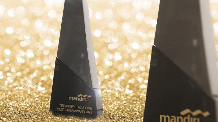 33 Korporasi dan 3 Individu Raih Penghargaan Mandiri Treasury Exclusive Customer Award 2021