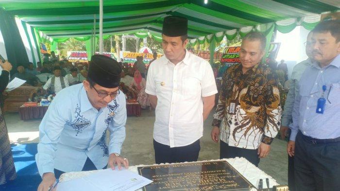Bank Sumut Bantu Pembangunan Mesjid Balai Kota Pematangsiantar
