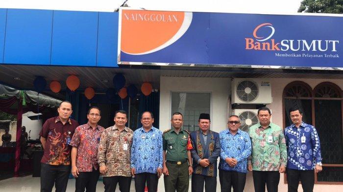 Perluasan Jaringan Pelayanan, Bank Sumut KCP Nainggolan Resmi Beroperasi