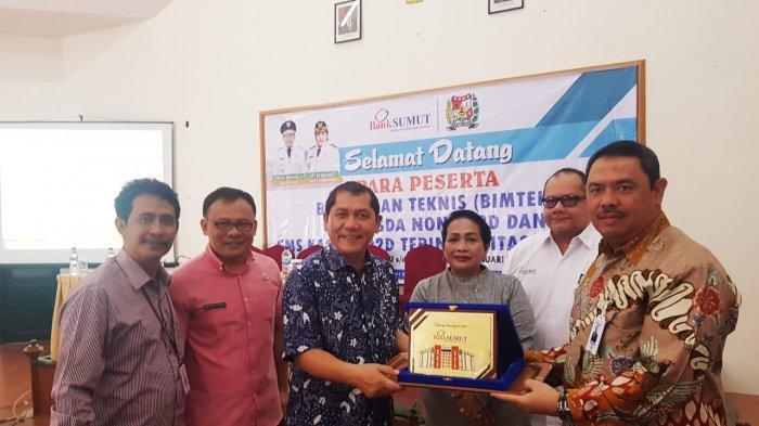 Bank Sumut Launching aplikasi CMS Kasda dan Non SP2D di Karo