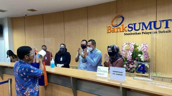 Dititipi Dana PEN Rp 1 Triliun, Bank Sumut Sudah Salurkan Kredit UMKM Sebanyak 61.181 Debitur