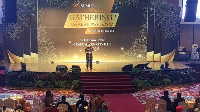 Bank Sumut Syariah Berbagi Info Kesehatan Saat Gelar Gathering Nasabah Prioritas