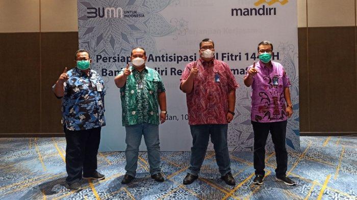 Bank Mandiri Region Sumatera I Simpan DPK Sebesar Rp 66,4 Triliun