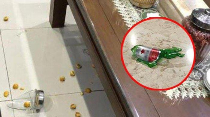 Kronologi Anggota DPRD Ngamuk di Pendopo, Banting Botol Bir Ajak Duel Satpol PP, Disaksikan Polisi