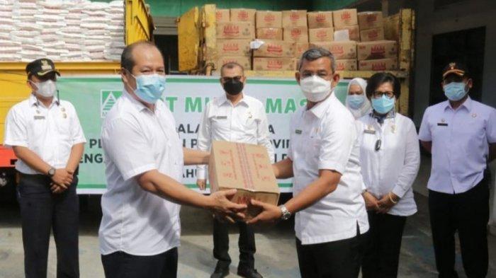 20 Ton Beras dari PT Musim Mas Akan Dibagikan ke Warga Medan Melalui Pemko Medan