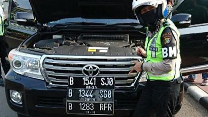 Hati-hati, Tak Pasang Pelat Nomor di Tempatnya Bakal Didenda Rp 500.000