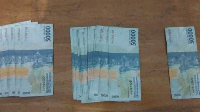Pengedar Uang Palsu di Sekitar Pagurawan dan Bandar Khalifah Ditangkap Polisi