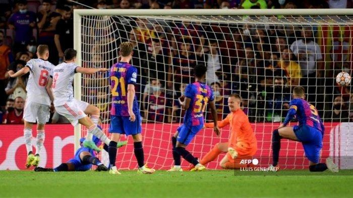 HASIL Liga Champions - Barcelona Kena Bantai Lagi Kontra Bayern Munchen, Bisu Sepanjang Laga