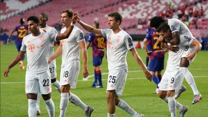 LINK Nonton Live Streaming Barcelona Vs Bayern Munchen Jam 02.00, Ini Head to Head Kedua Tim