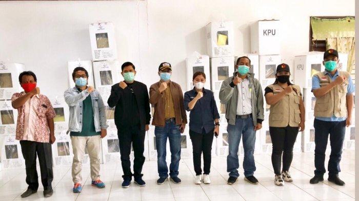 Bawaslu Monitoring Rekapitulasi Surat Suara Pilkada Humbahas di Tingkat Kecamatan