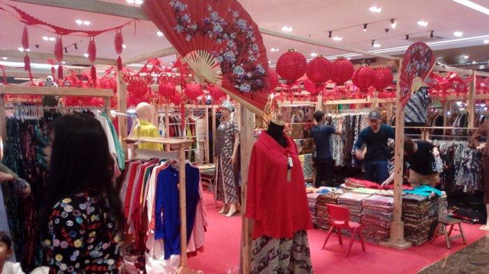 Jelang Perayaan Imlek, Ringroad City Walk Menggelar Bazar