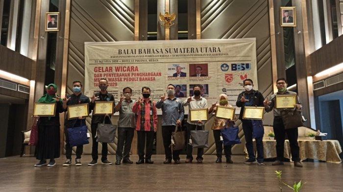 Jadi Pemenang Media Massa Kampus Peduli Bahasa, Pers Kampus Berharap Bisa Diakui Undang-undang