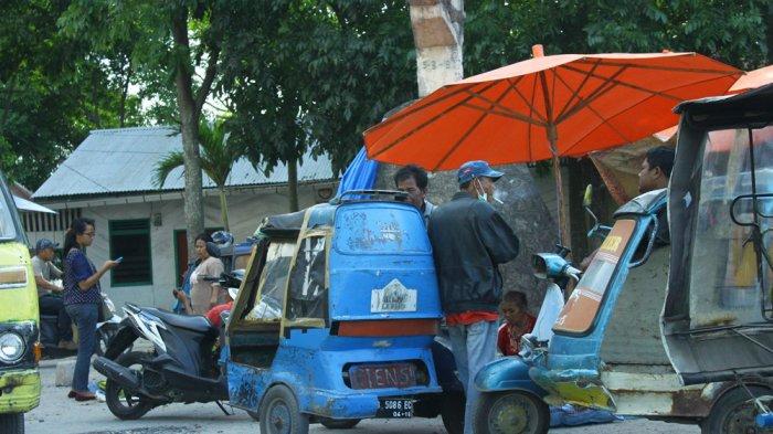 Transportasi Online Menjamur, Becak Khas Sumut Ini Punya Daya Tarik  Tak Habis Dimakan Masa