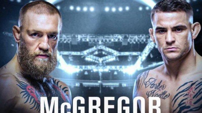 SIARAN LANGSUNG Link Live Streaming McGregor vs Dustin Poirier, Tonton Link Live UFC 257 Hari Ini
