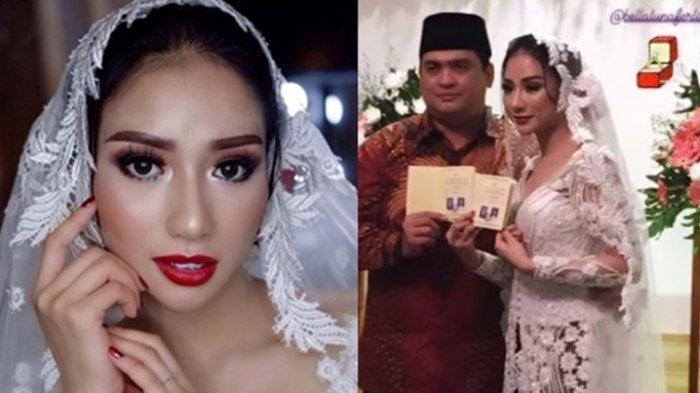 Bella Luna menikah dengan pengusaha. (Instagram tagged @bellalunaferlinn)