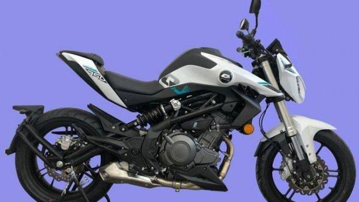 Penampakan Qianjiang QJ 350, Harley Davidson Buatan China