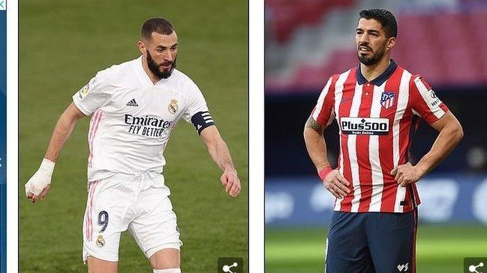 SEDANG BERLANGSUNG Atletico Madrid Vs Real Madrid, Klik Di Sini Nonton Live Streaming Gratis