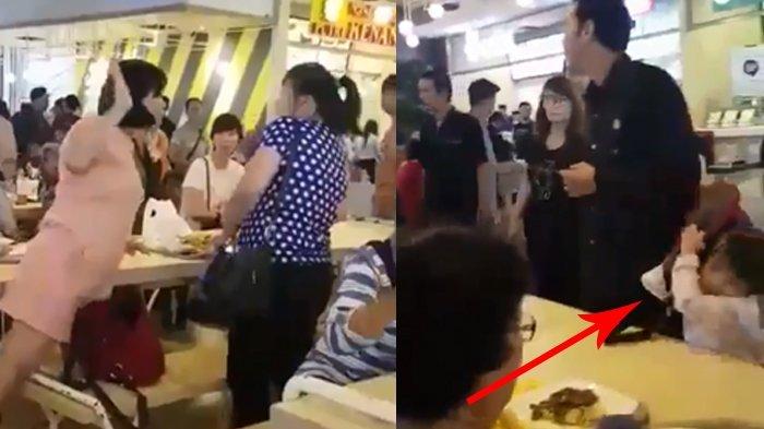 Viral Video 2 Perempuan Cekcok di Pujasera Puri Indah, Tenyata Cuma karena Soal Sepele