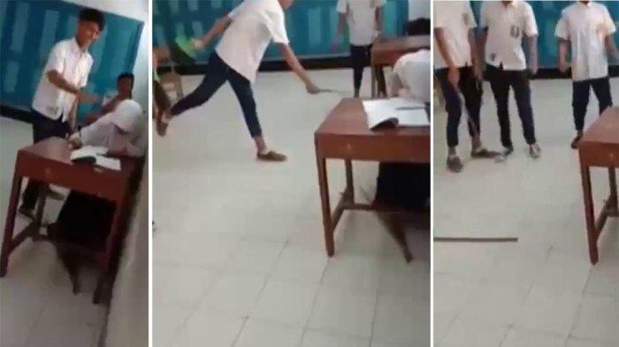 BEREDAR Video Siswi SMP Diam Dibully di Kelas Dipukuli 3 Siswa, Polisi hingga Gubernur Angkat Bicara