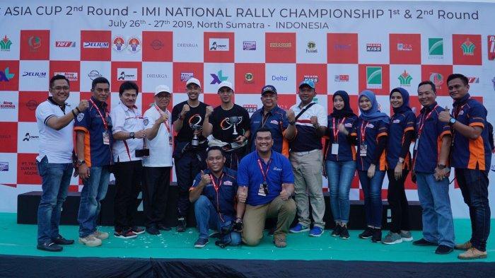 Bank Sumut BRM Motorsport Rally Team Sukses di Kejuaraan Nasional Reli 2019