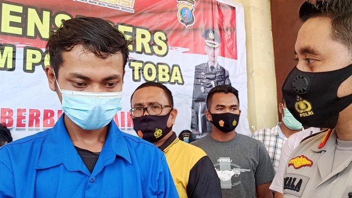 Beringas Saat Bunuh Guru SD di Toba, Tapi Kek Ayam Sayur saat Ditangkap Polisi